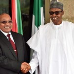 Zuma and Buhari in Nigeria - 9 News