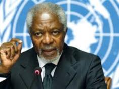 United Nations Secretary General, Kofi Annan