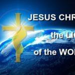 Jesus Christ the Light of the World