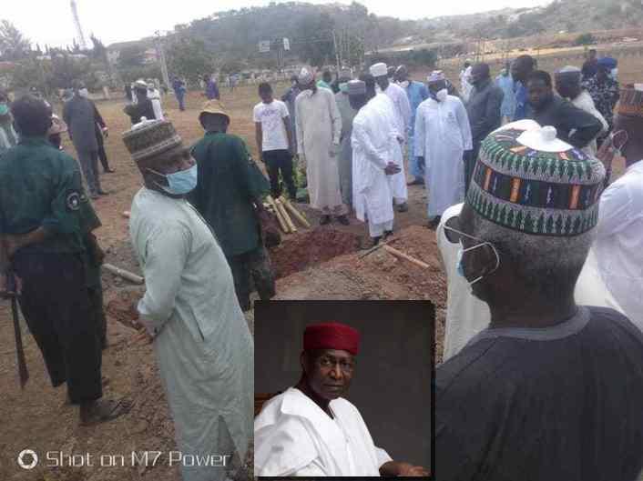 Abba Kyari buried in Abuja- 1