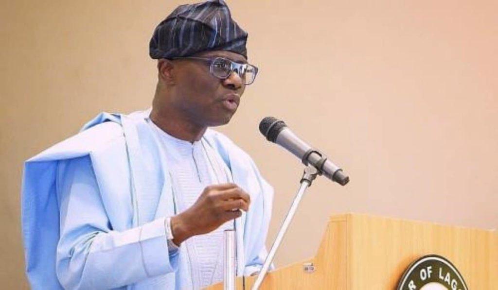 The Lagos state governor Babajide Sanwo Olu
