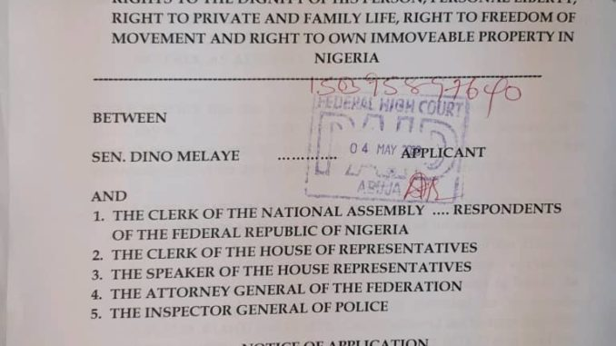 Full Court Suit Against House of Reps
