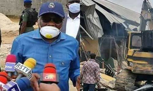 Governor Wike and Demolition of Hotesl in River state